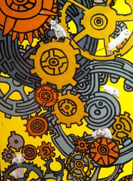 Mice Clock Panel
