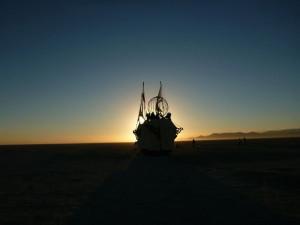 NSS Triton sailing away!